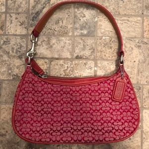 Coach Red Mini Shoulder Bag